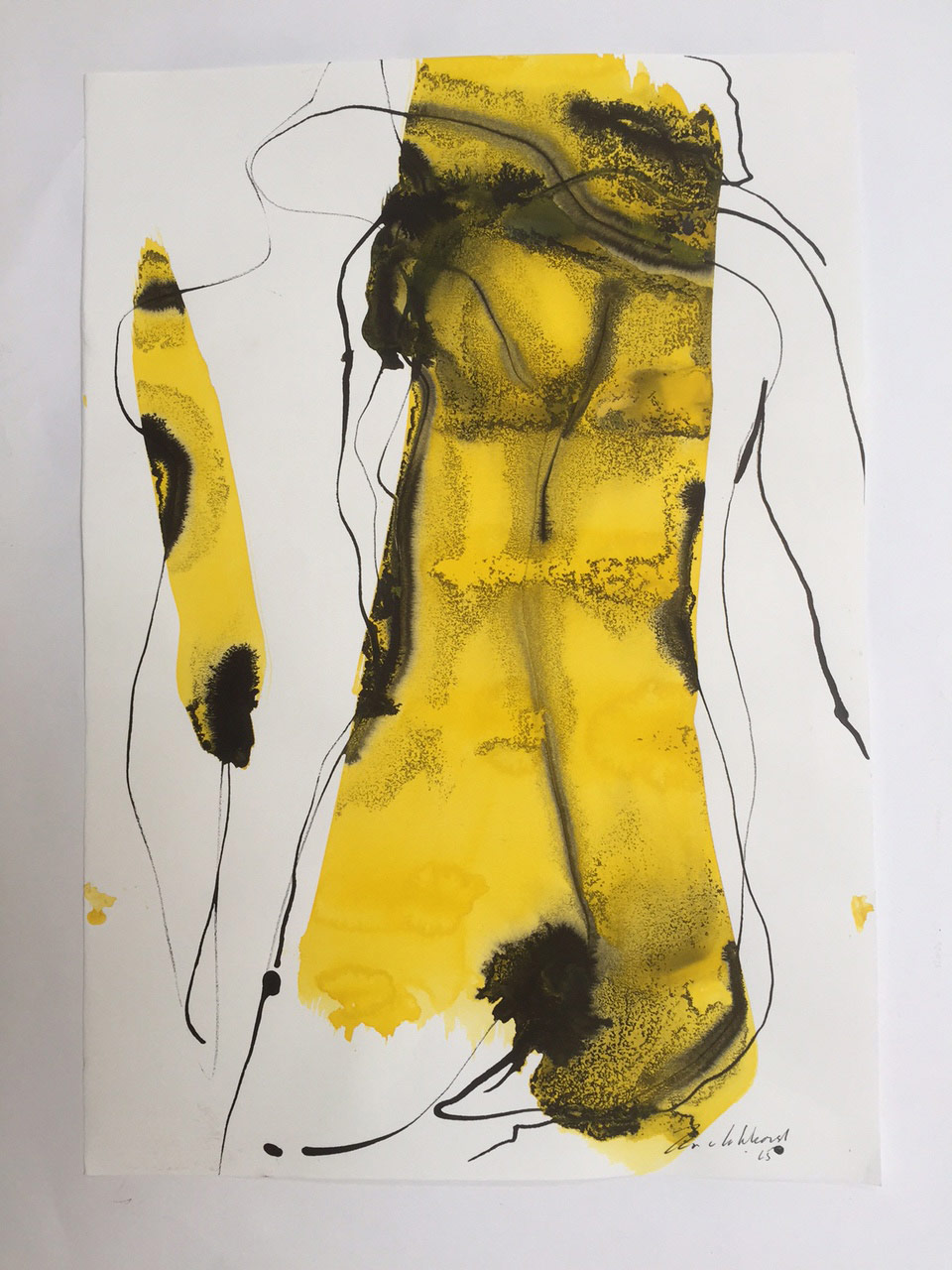 Jan van Lokhorst kunstenaar, papier