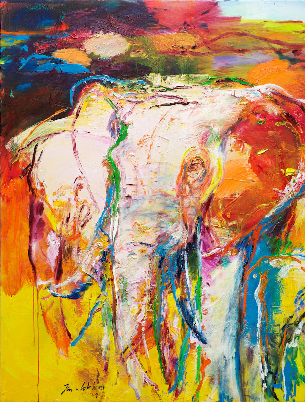 Olifanten 11 Jan van Lokhorst