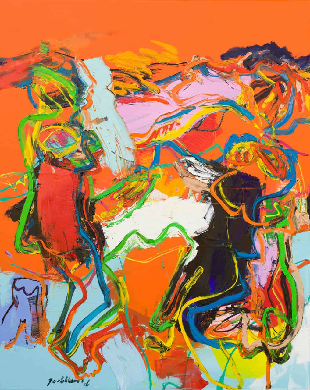 Figuur compositie, Jan van Lokhorst