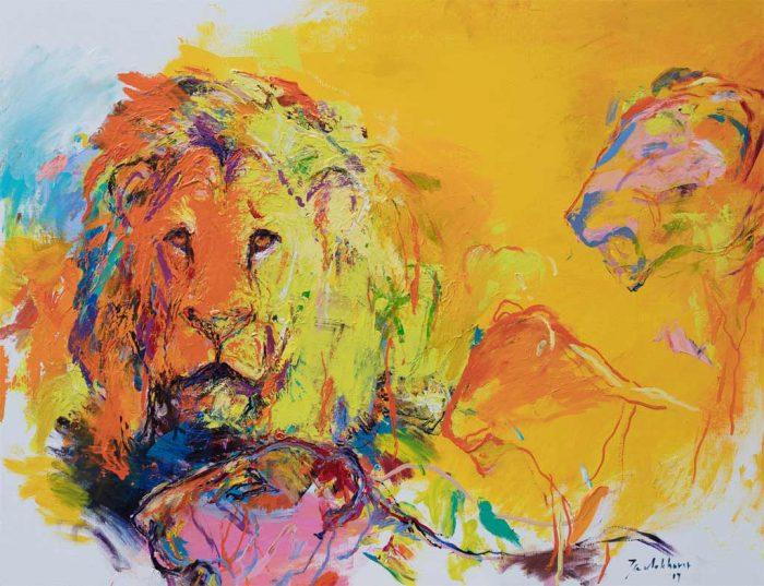 schilderij_leeuwen_le8