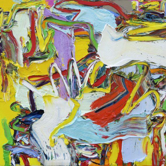 Summertime Olieverf op linnen 70 x 60 cm