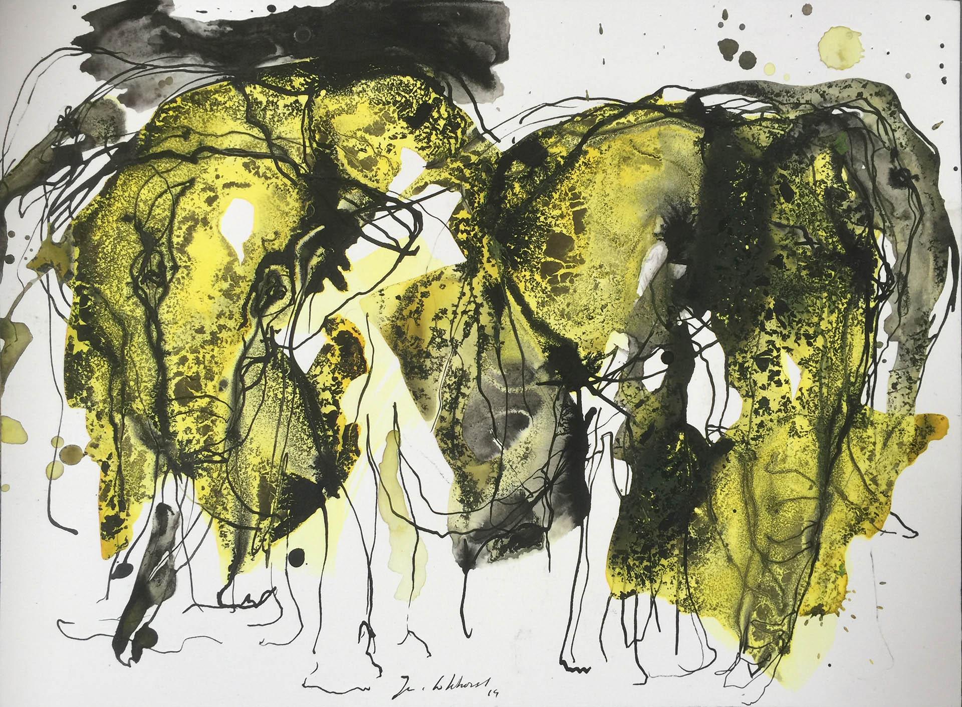 Olifanten tekeningen JVL