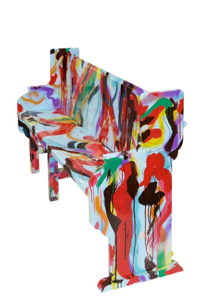 beschilderde kerbank