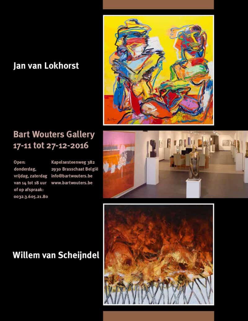 Expositie Jan van Lokhorst in Brasschaat Belgiē.