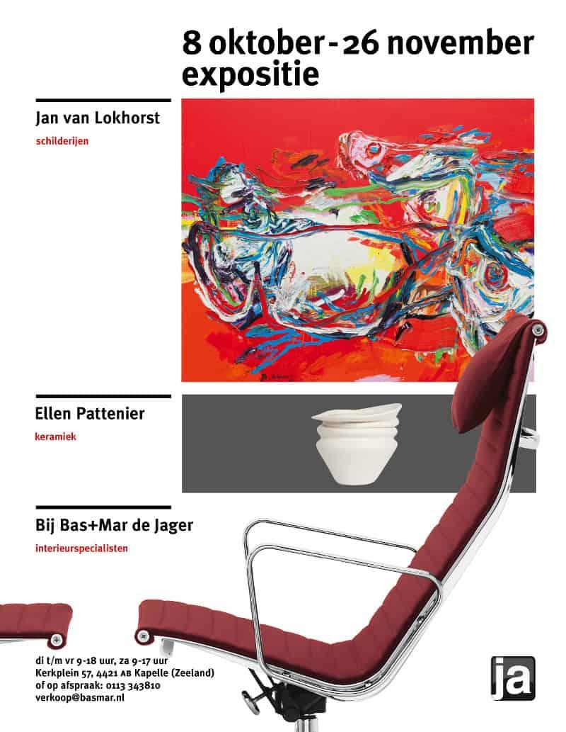 Expositie Jan van Lokhorst in Kapelle (Zeeland)