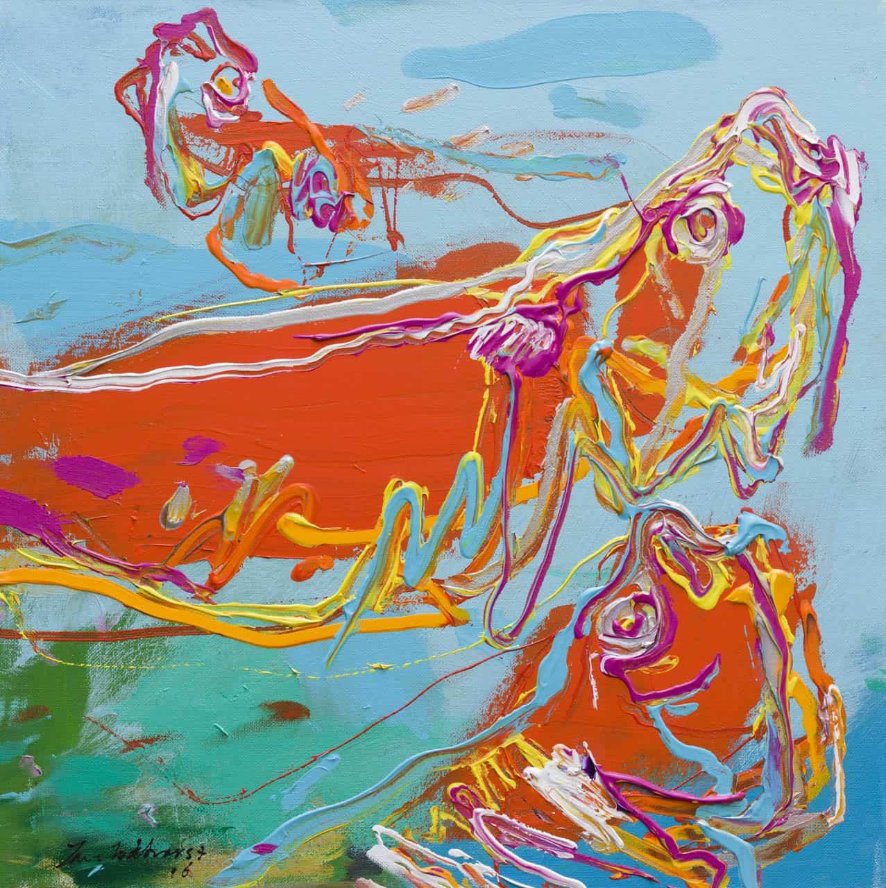 Vissen, Jan van Lokhorst