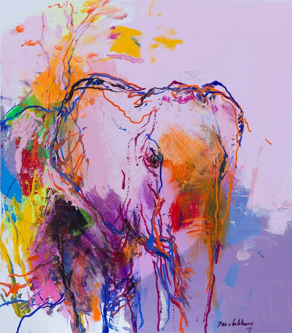 Olifant schilderij DO 38