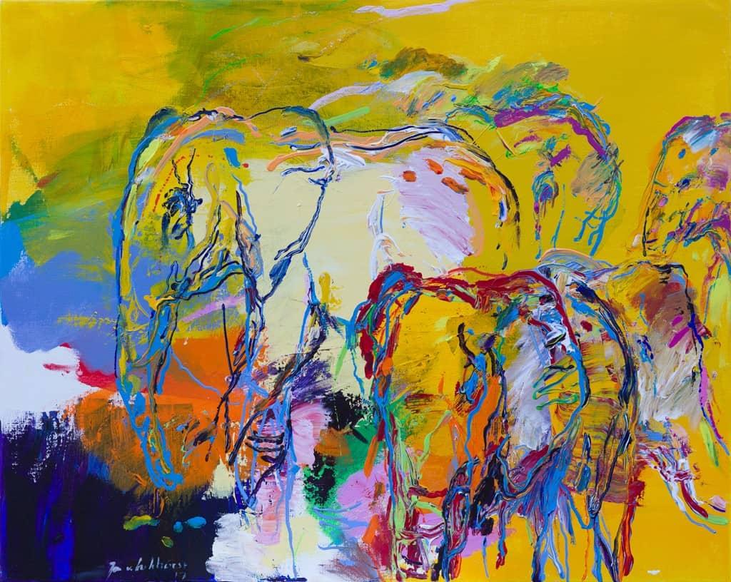 Olifant schilderij DO 40