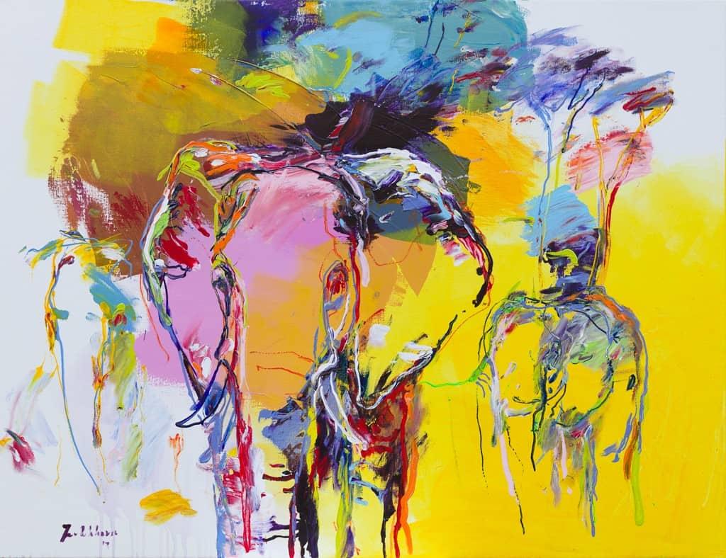 Olifant schilderij DO 41