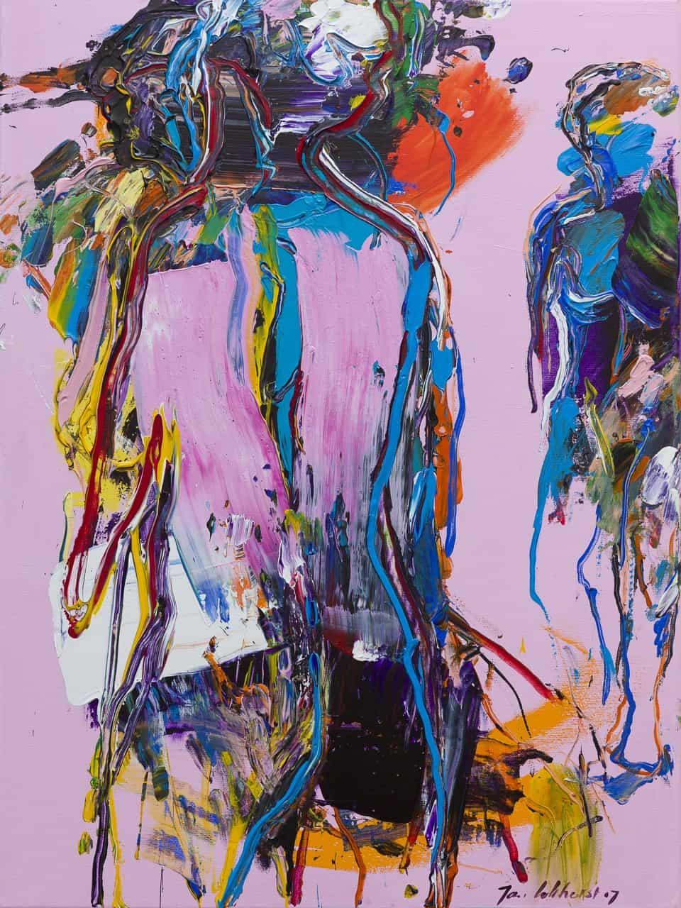 figuur-compositie-roze-blauw