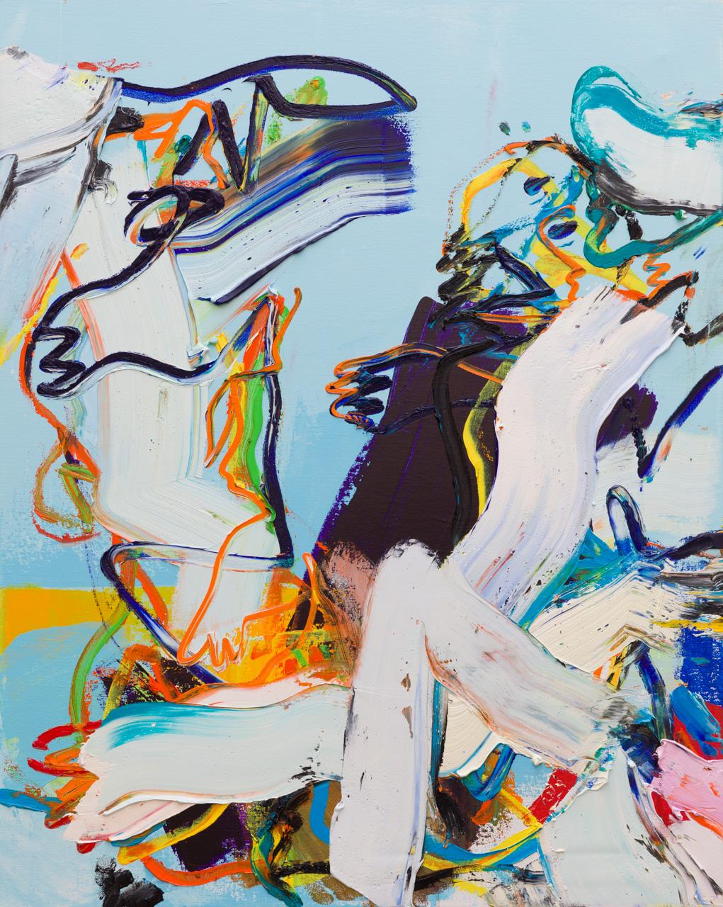 Figuratief schilderij abstract