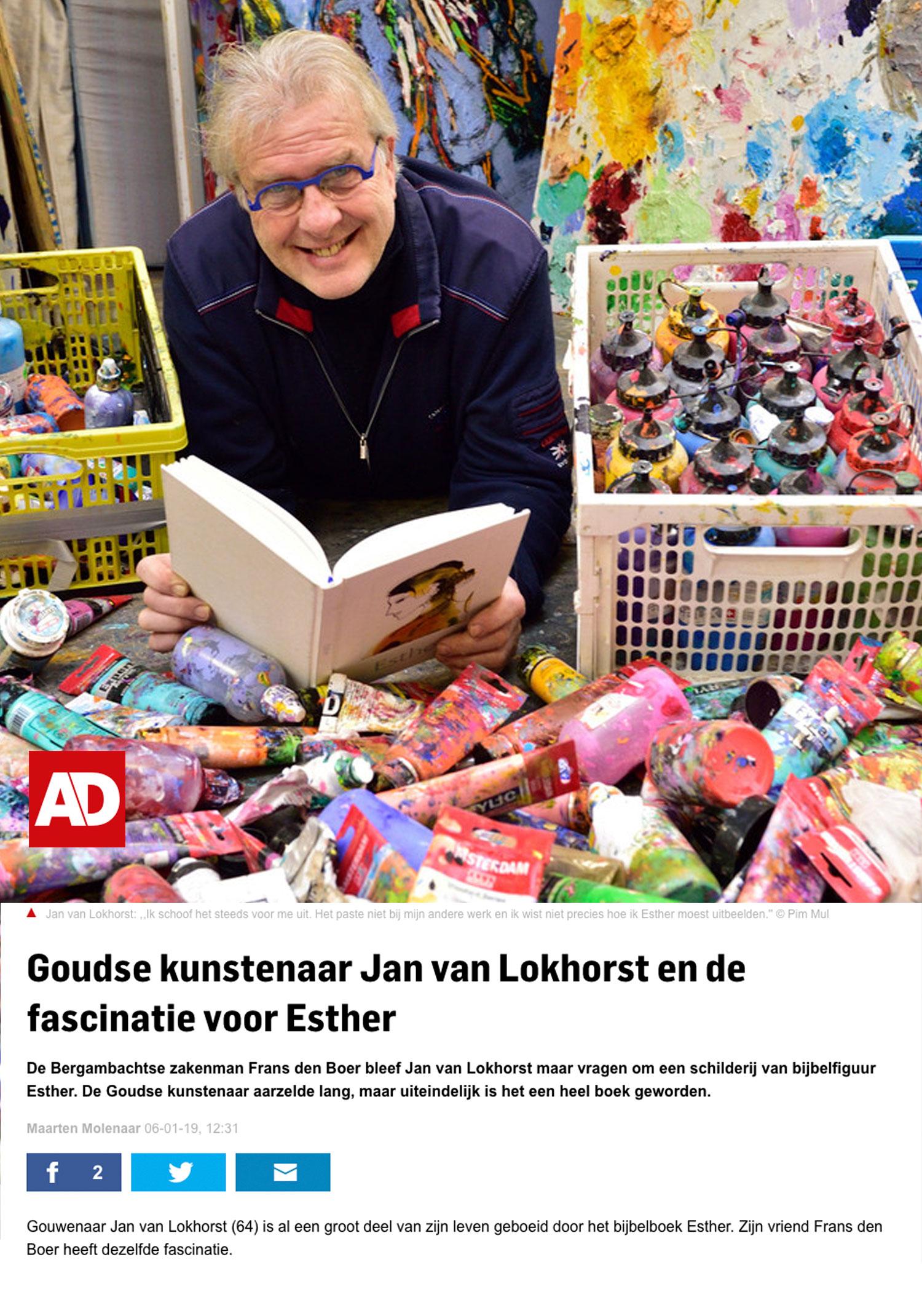 Jan van Lokhorst en de fascinatie voor Esther
