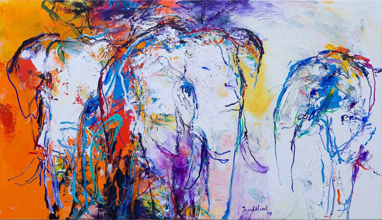 Olifanten schilderij DO66