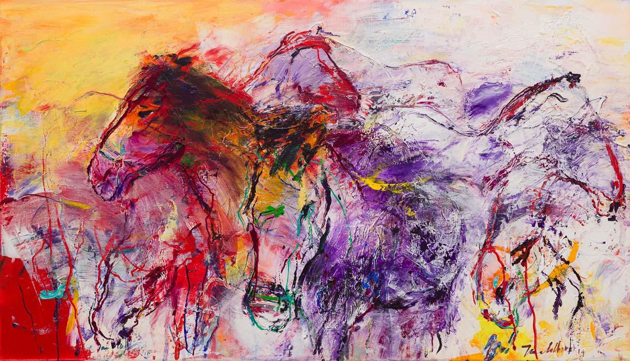 Paarden schilderij PA2